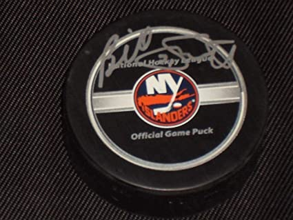 388034575 Billy Smith Autographed Puck - Hof Authentic Nhl - Steiner Sports ...