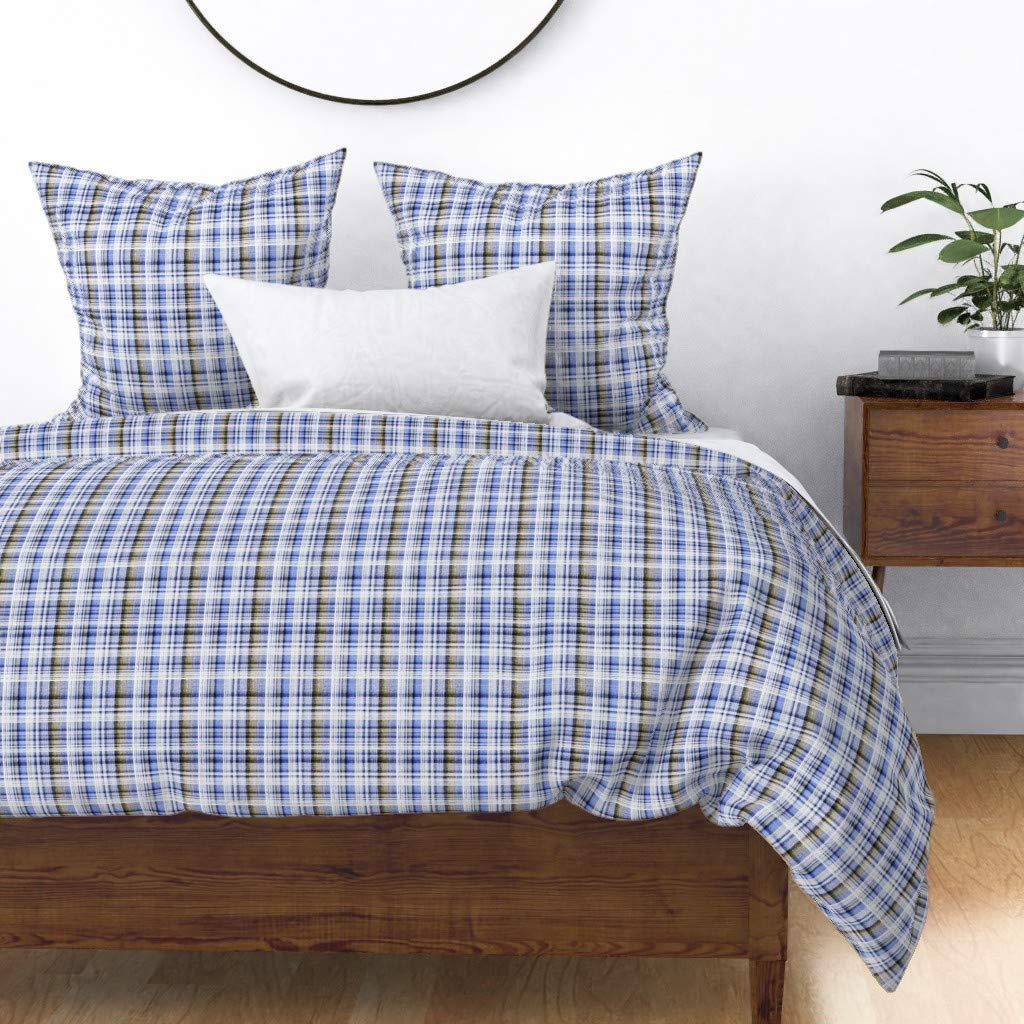 Amazon.com: roostery Joan funda de almohada tela vaquera ...