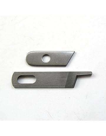 KUNPENG - para la máquina de sobrecarga Serger SINGER 14CG754 Cuchillas de cuchillas superiores e inferiores