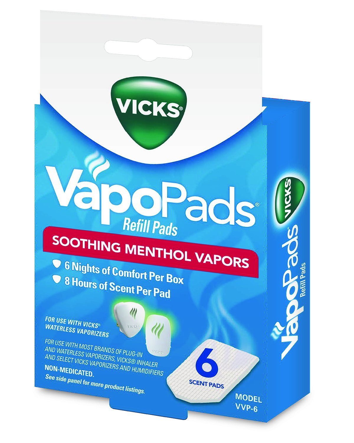Vicks Soothing Vapors Replacement Pads