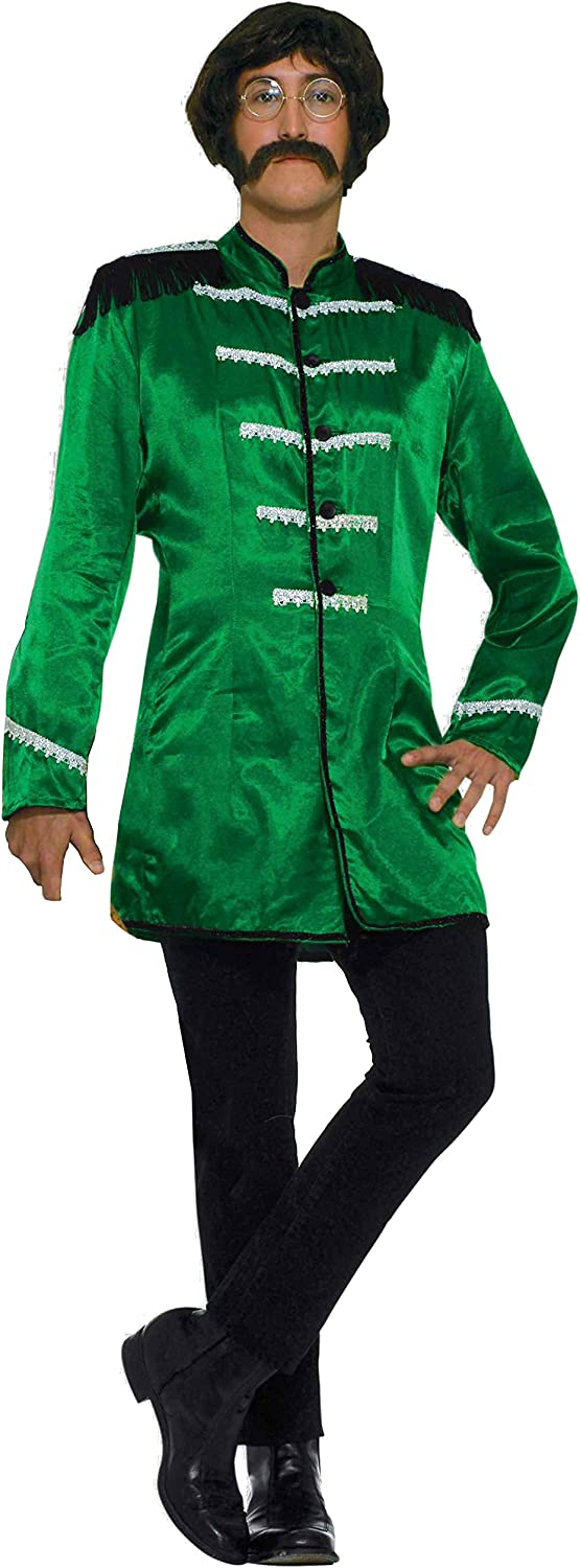 Mens fancy Steampunk Gothic Tailcoat Multi Color Jacket Victorian Style C//GREEN