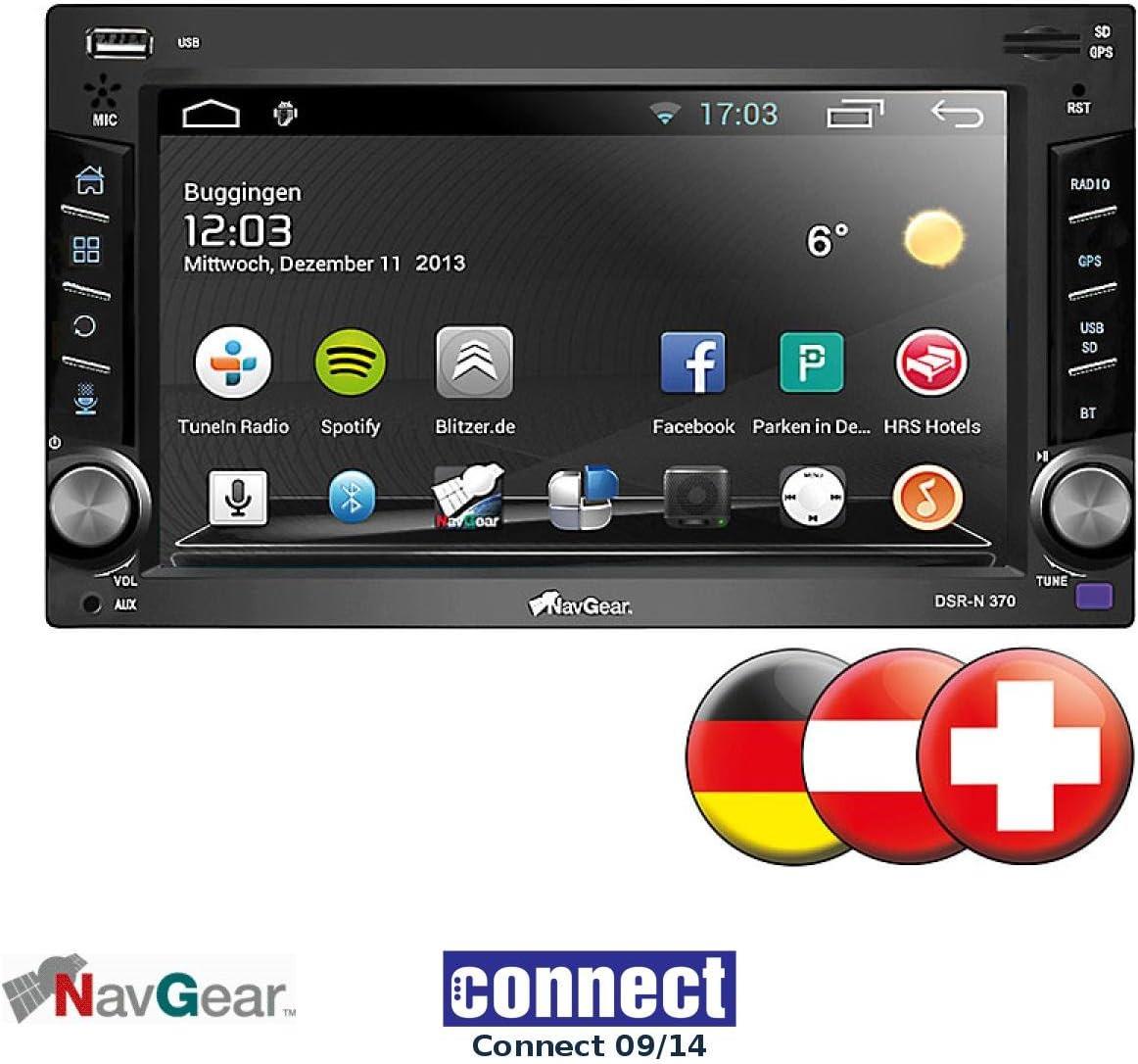 NavGear StreetMate de 2 din radio de coche con 6 de navi, DSR ...
