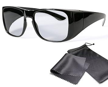 3d Uberziehbrille Fur Brillentrager Amazon De Elektronik