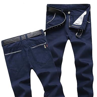 35905d0c4a7 Dapengzhu New Business Casual Pants Skinny Men Spring Summer Men s Cargo  Pants 6 Color Cotton Straight