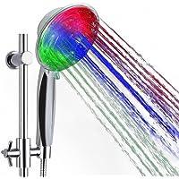 Douchekop led ZSZT® wellnessdouche handdouche douchekop met licht kleurverandering 7 kleuren automatisch, past op de…