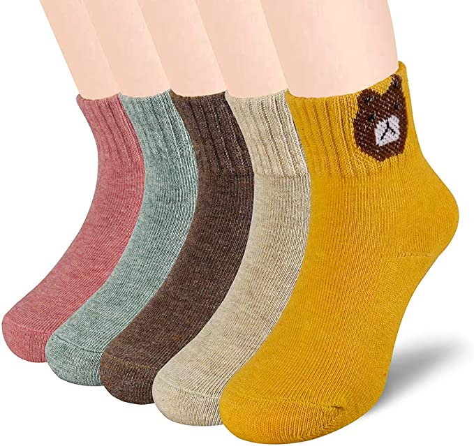 B-Ware, bianco 8 paia calzini con elastan