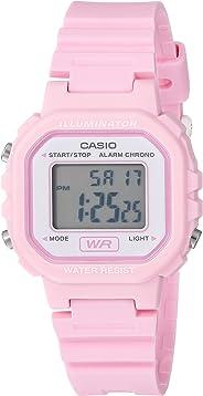 Casio Women's LA20WH-4A1 Sport Watch, Pink/White