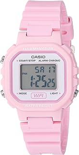 33b06108d Casio Women's Classic Quartz Watch with Resin Strap, Pink, 9 (Model: LA