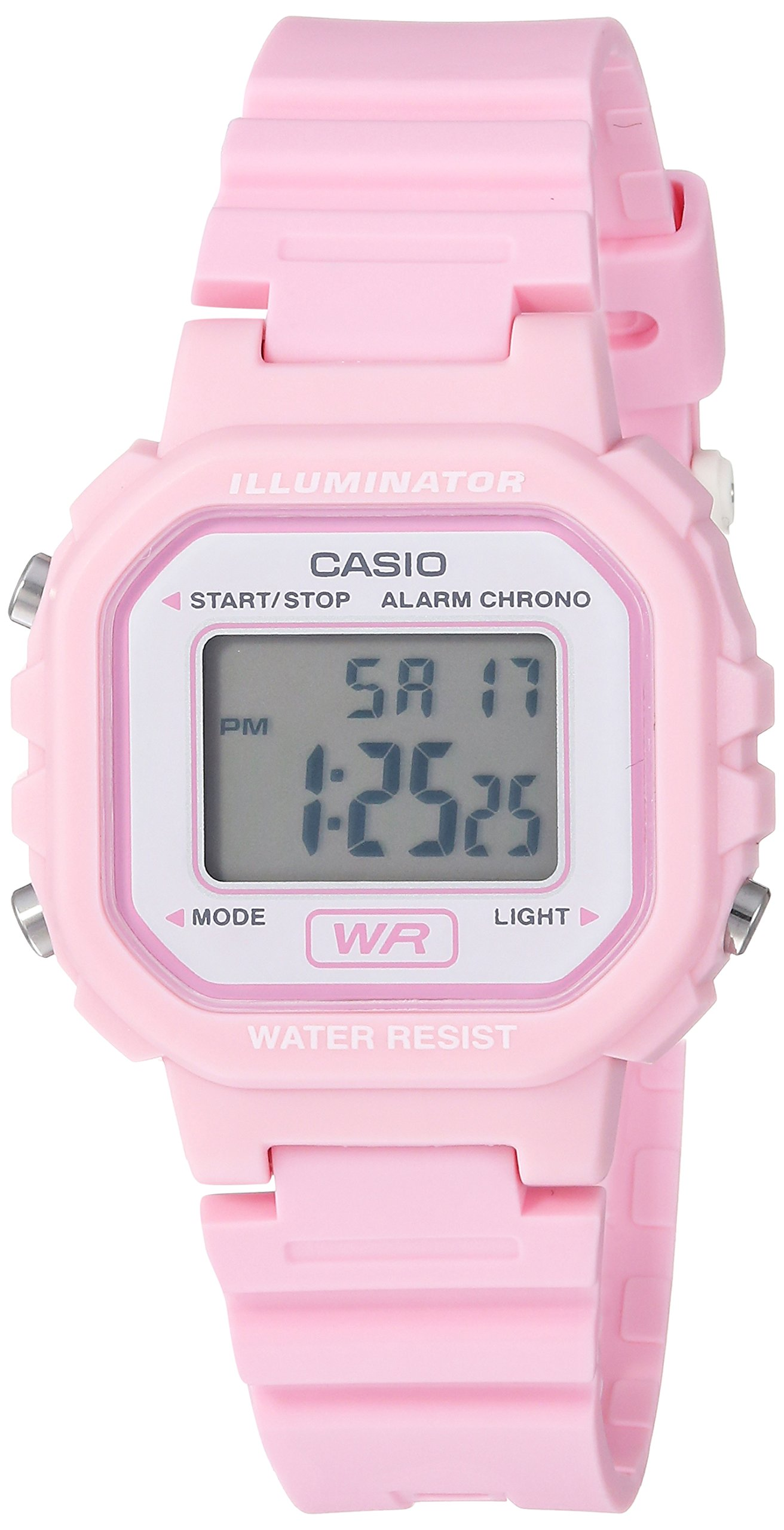 Casio Women's Classic Quartz Watch with Resin Strap, Pink, 9 (Model: LA-20WH-4A1CF by Casio