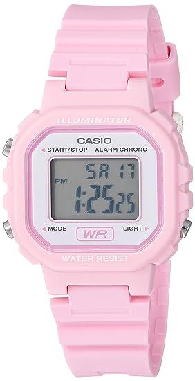 Casio Reloj Classic Resina de Cuarzo Casual para Mujer, Color: Rosa (
