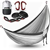ETROL Hammock, Camping Double & Single Portable Hammock with 2 Tree Straps - Anti-Rollover/Bear up to 660lbs - Lightweight fo