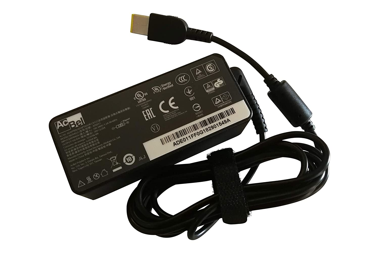 Lenovo 20V 2.25A 45W Replacement AC Adapter