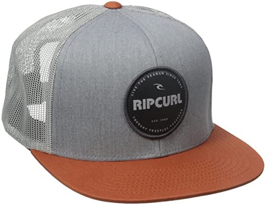 7a414904a99113 Rip Curl Men's Style Master Trucker Hat, Rust, One Size: Amazon.in ...