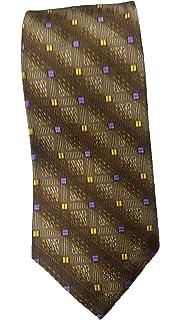 Robert Talbott Gold with Blue Paisley Heritage Seven Fold Tie