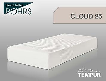 Tempur Cloud 25 Colchón, Color Beige/Blanco, 80 x 200 x 25 cm: Amazon.es: Hogar