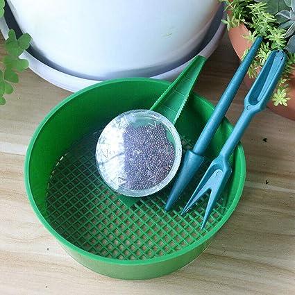 Amazon com: Quaanti Garden Hand Tool Set,Garden Plant Seed Dispenser