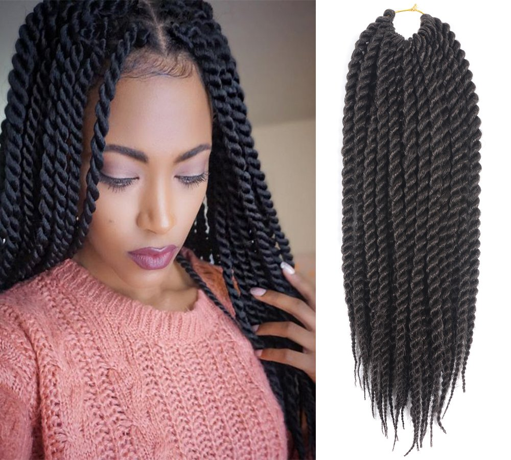 Amazon Una 12 Inch Senegalese Twist Crochet Braids22strand