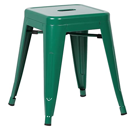 Poly and Bark Trattoria 18 Stool in Dark Green