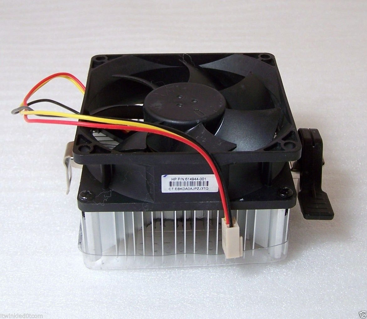 Sparepart: HP HeatSink with fan, 614944-001