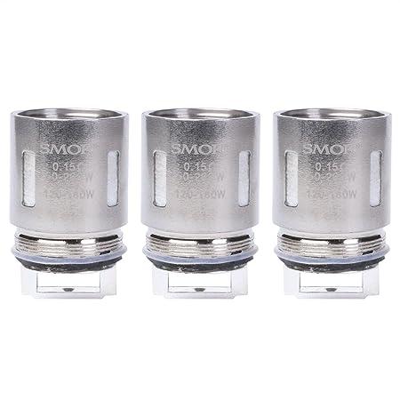 Riccardo V8-T8 Coils für TFV8 Tank Cloud Beast Clearomizer (0,15 Ohm), SMOK Verdampferköpfe für e-Zigarette, 3 Stück