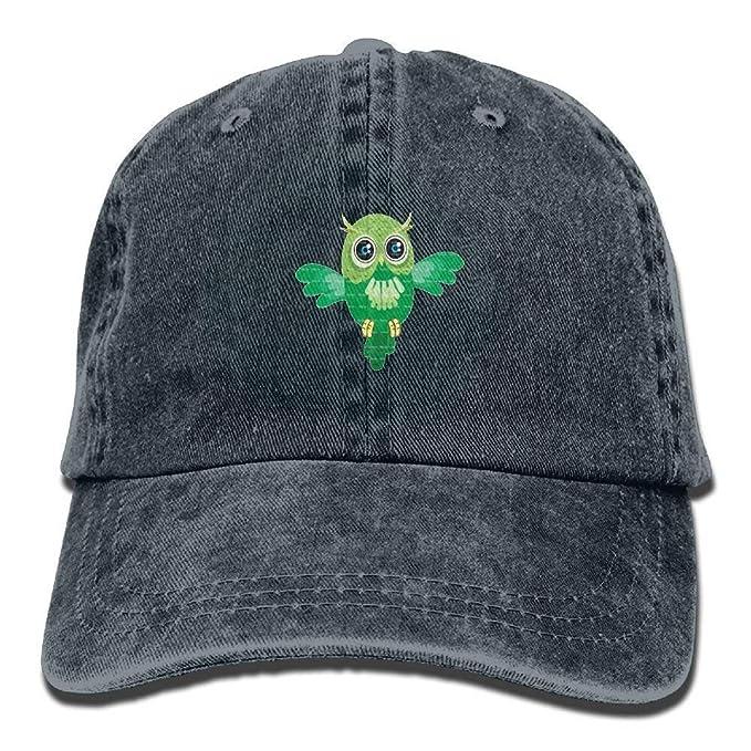 fd83ffc7bca wuhandeshanbaosheng Owl Denim Baseball Caps Hat Adjustable Sport Strap Cap   Amazon.ca  Clothing   Accessories