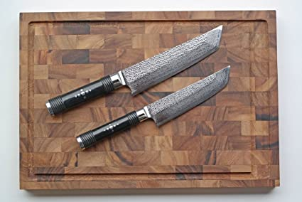 Compra Kai Shi Hou de Juego de cuchillos de damasco edición ...