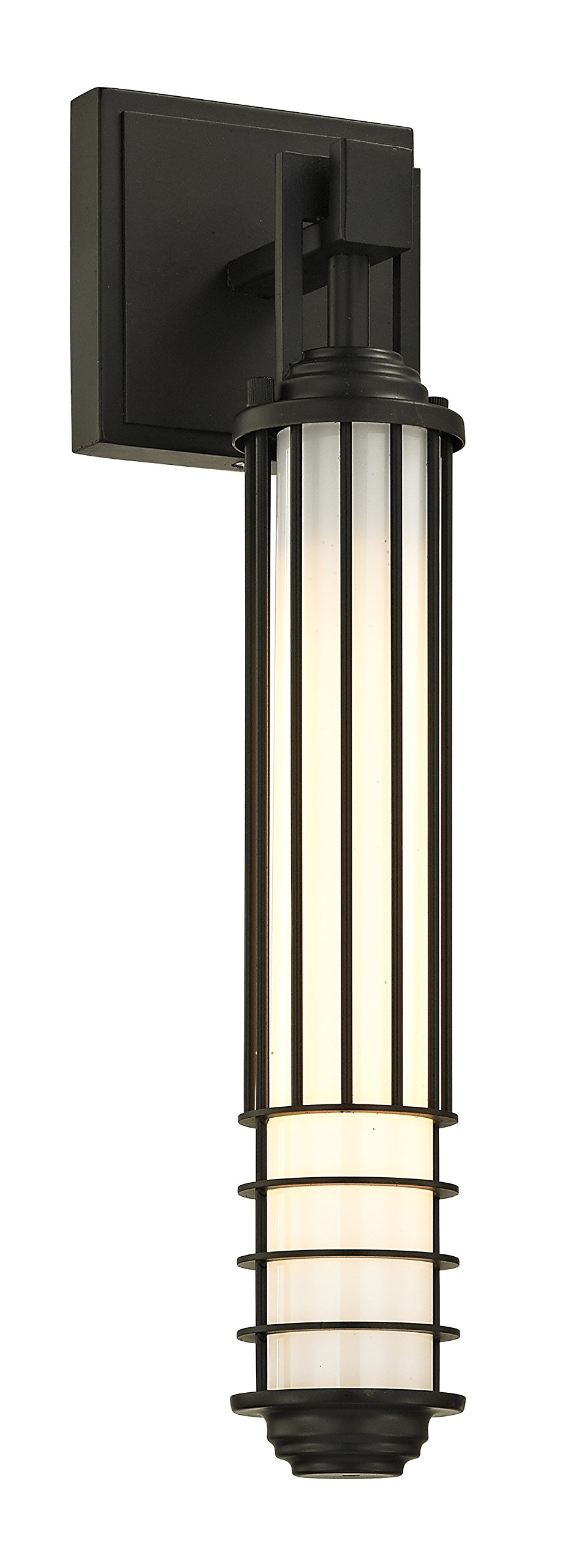 Troy Lighting B6401 Powell Street Outdoor Wall Sconce, Small, Powell Street Bronze