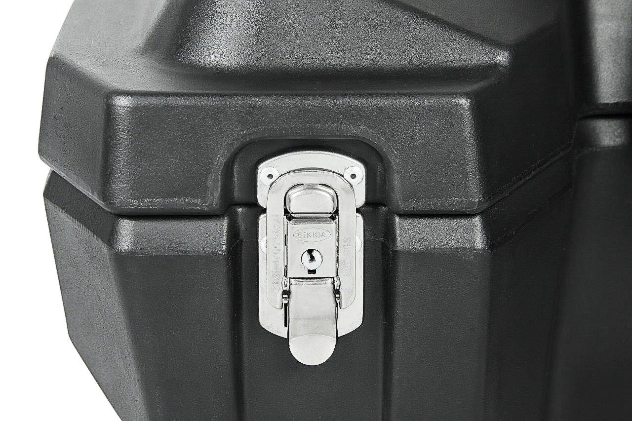 mit gro/ßer Lade/öffnung Model 8030 Inklusive Befestigungsmaterial Linear Low Density Polyethylene Material und Sicherheitsschl/össern Universal Quad- ATV Koffer aus Hochwertigem LLDPE