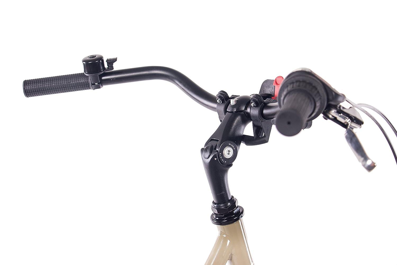26 Zoll Cityrad Damenrad KCP TOURY mit 3G SHIMANO NEXUS /& R/ücktritt nach StVZO schwarz oliv