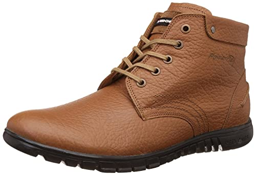 Tan Men's Boot Casual Leather Shoes
