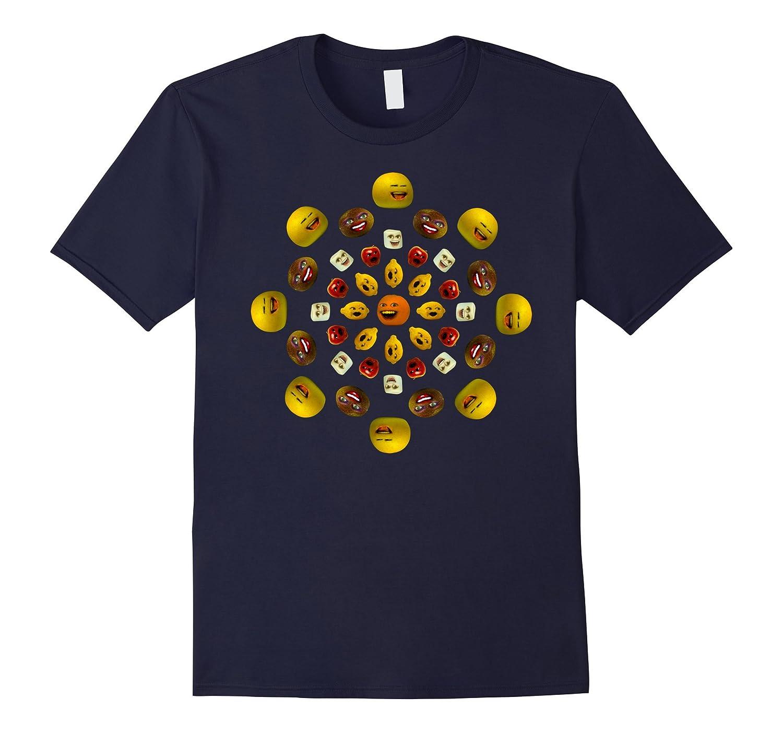Annoying Orange Pattern T-shirt-T-Shirt