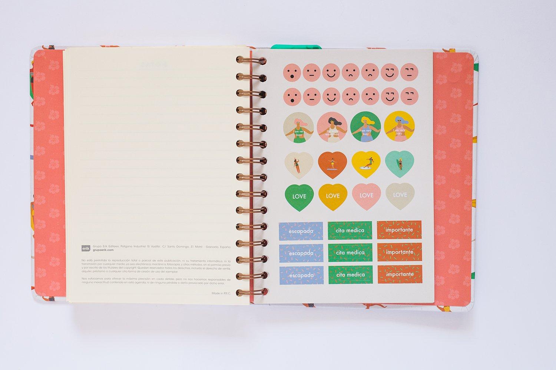 Amazon.com : Grupo Erik Editores - School Diary/Planner 2017 ...
