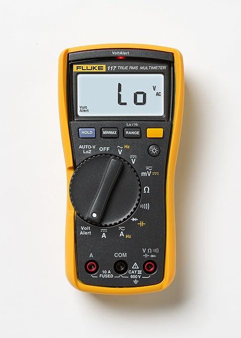 Fluke 117 Multimeter Für Elektriker Electrician Multimeter And Clamp Meter Combo Kit 1 Gewerbe Industrie Wissenschaft
