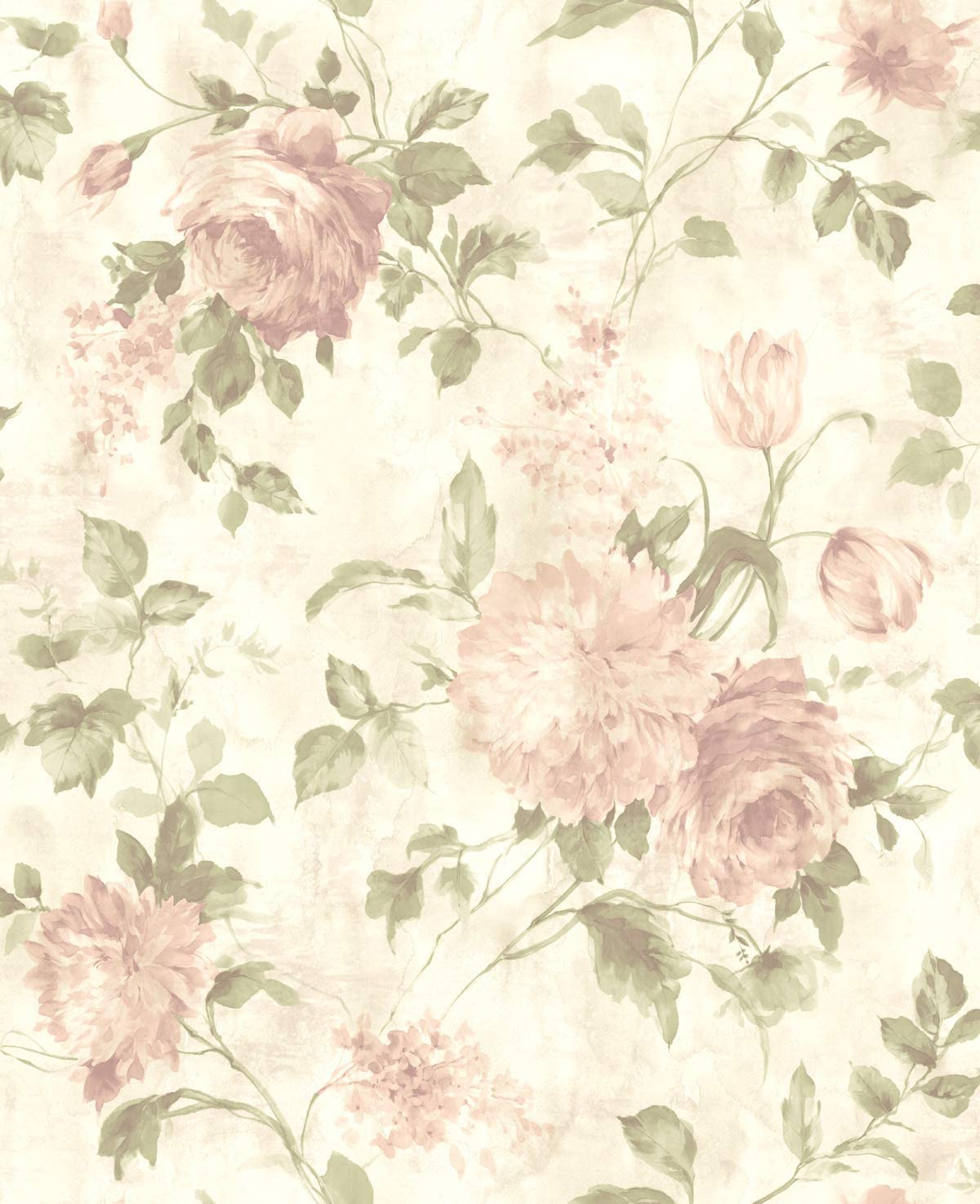 Wallpaper Floral Chinoiserie Wallpaper Vintage Floral Wallpaper