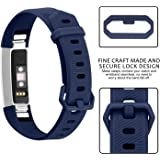 iloft Silicone Replacement Band for Fitbit Alta HR and Alta (Classic) (Strap Only. Tracker Not Included)