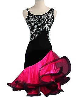 80f480f8d Siqian Adult/Child Latin Rhinestone Rumba Chacha Jive Samba Party Dance  Evening Modern Dress