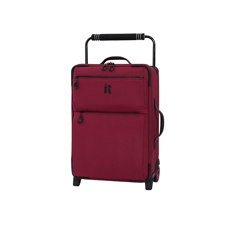 it luggage WorldS Lightest Urbane 2 Wheel Super Lightweight Suitcase Small Maleta 55 cm Azul Navy//Blue Two Tone 30 Liters