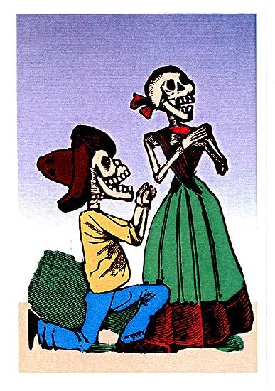Amazon.com: Las Calacas Greeting Card/<br> Tarjeta: Health ...