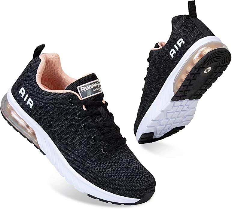 Men and Women Running Shoes Air Cushion Sports Trainers Breathable Lightweight Sneakers