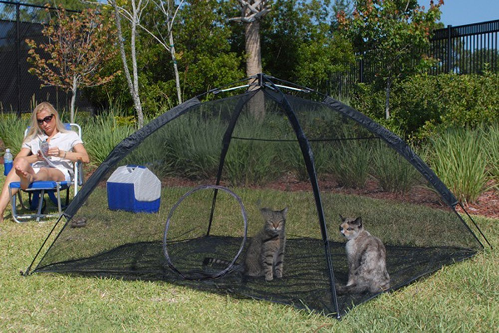 Tunnels Portable Cat Tent Cat Tunnel And Playhouse Renewed Play Tents For Cats And Small Animals Outback Jack Outdoor Cat Enclosures For Indoor Cats Pet Supplies