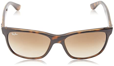 c39dfef0ca2 Amazon.com  Ray-Ban RB4181 - Light Havana Frame Crystal Brown Gradient  Lenses 57mm Non-Polarized  Ray-Ban  Clothing