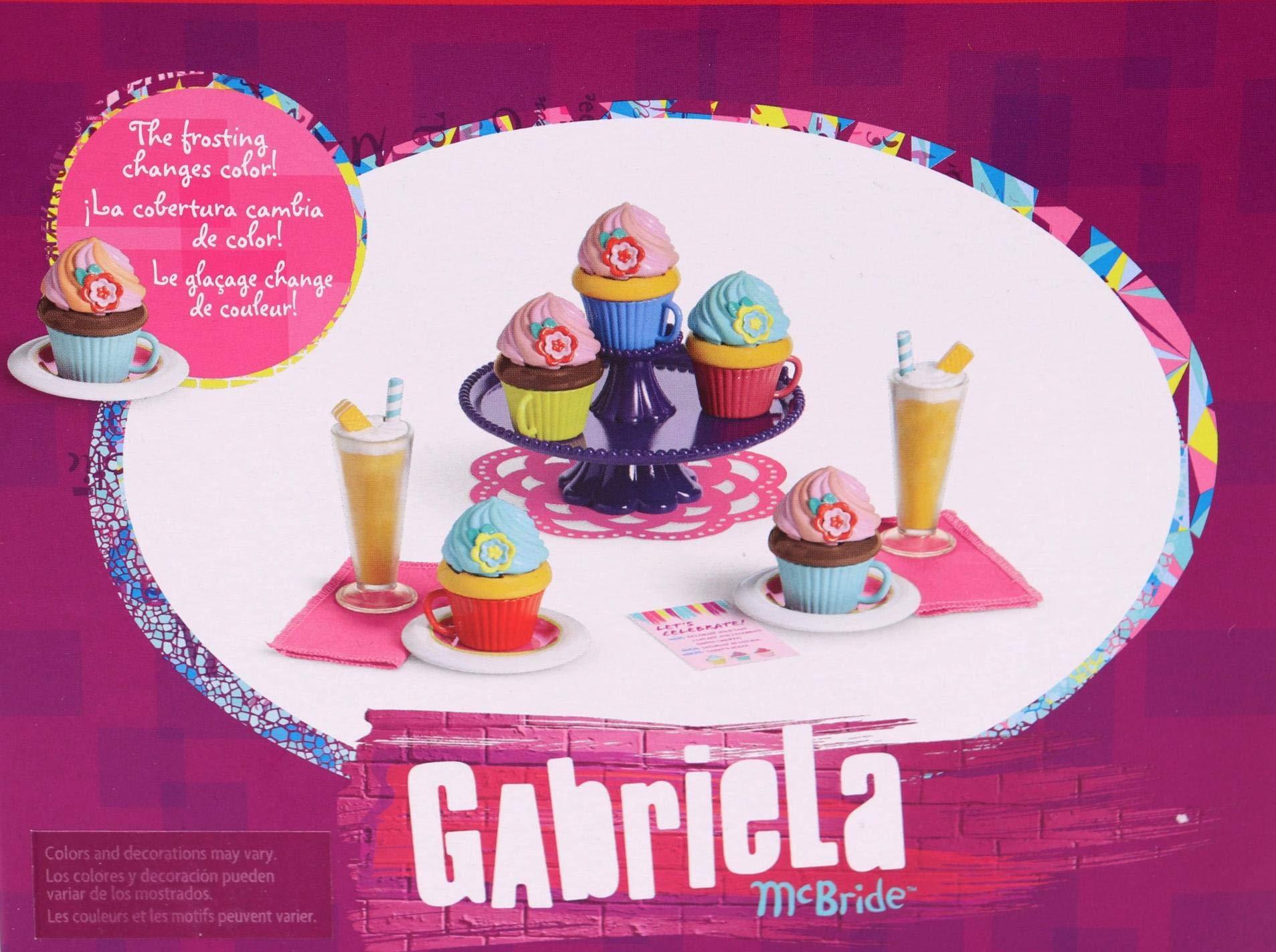 American Girl - Gabriela McBride - Gabriela's Colorful Cupcake Set for 18-inch Dolls - American Girl of 2017