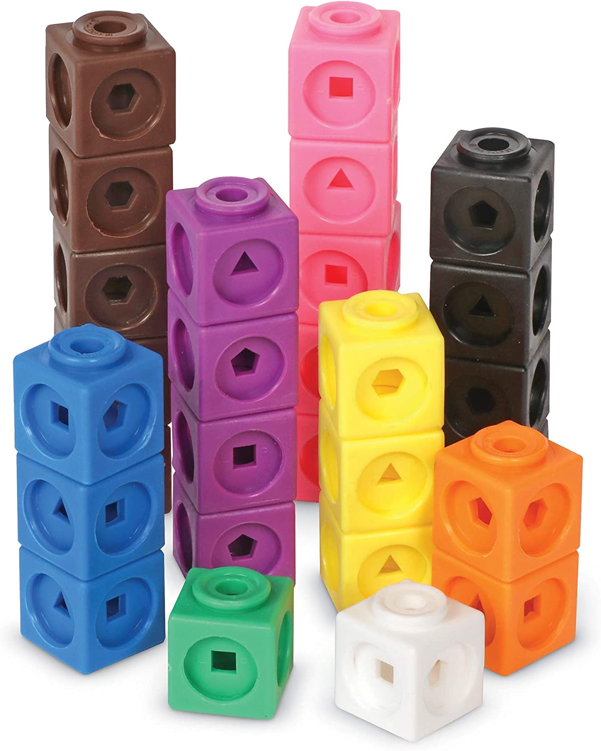 B000URL29Q Learning Resources Mathlink Cubes, Educational Counting Toy, Math Cubes, Patterning Activities, Set of 1000 Cubes, Grades K+, Ages 4+ 715lVKMjOvL