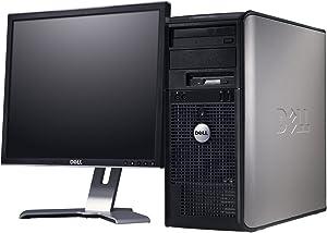 Optiplex GX280 Tower - 400GB HDD, 4GB Ram, DVD-Rom, 17in LCD Monitor, Windows XP Professional (Renewed)