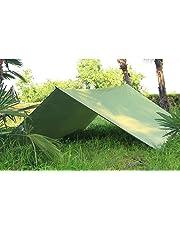 crayfomo Hammock Rain Fly Tent Tarp, Rain Tarp Beach Tent Hammock Fly Sunshade 3 X 3m,Anti UV Sun Shelter Snowproof Camping Shelter for Camping Outdoor Travel
