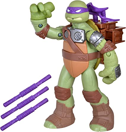 Teenage Mutant Ninja Turtles Flingers Bo Throwing Donatello Figure