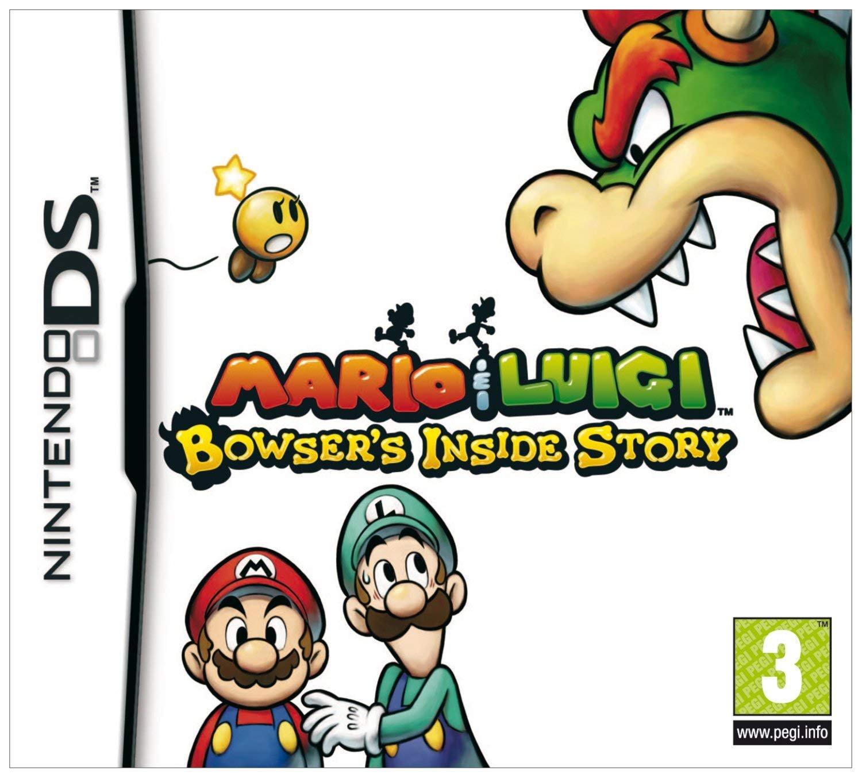 Amazon Com Mario Luigi Bowser S Inside Story Nintendo Ds