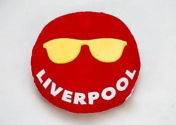 liverpool cool dude sunglasses emoji cushion round pillow amazon co