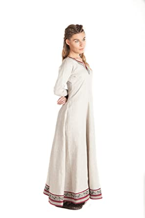 e8eff49ad31 Long Linen Viking Tunic Eydis (10
