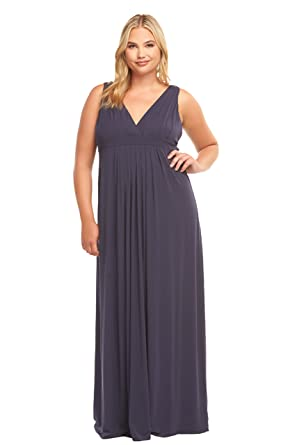 ea6dc08b33 Tart Collections Women s Plus Size Chael Maxi at Amazon Women s Clothing  store